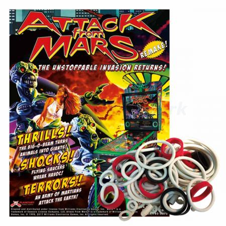 Attack from Mars Remake Gummisortiment