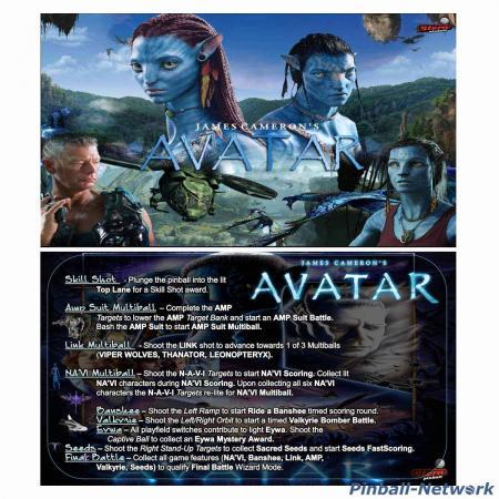 Avatar Custom Cards