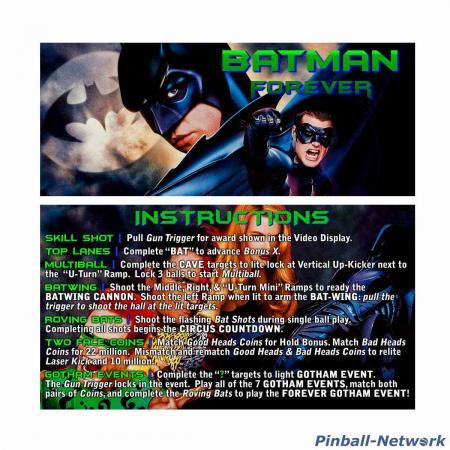 Batman Forever Custom Cards