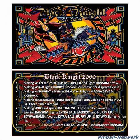 Black Knight 2000 Custom Cards