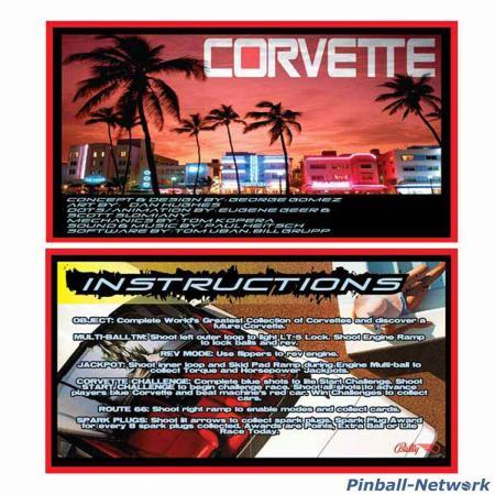 Corvette Custom Cards