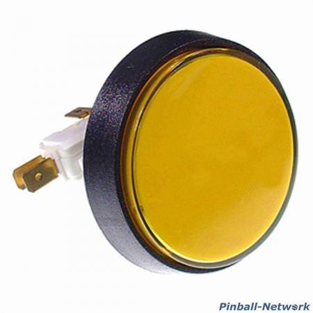 Flipperknopf für Kugelabschuß, gelb (B-Ware)