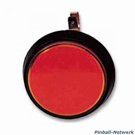 Flipperknopf für Kugelabschuß, rot (B-Ware)