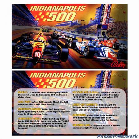 Indianapolis 500 Custom Cards