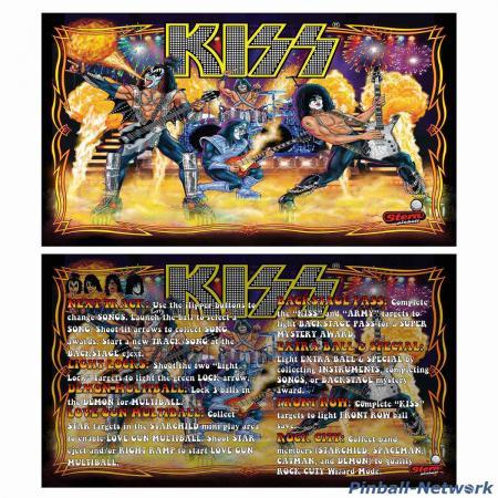 KISS Stern Custom Cards, Design 2