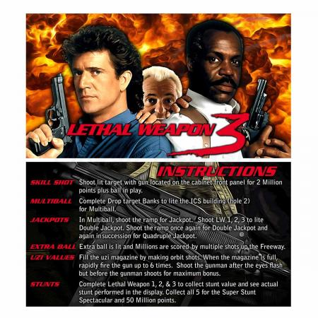 Lethal Weapon 3 Custom Cards