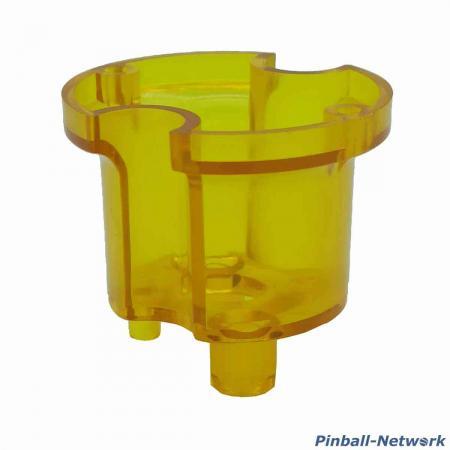 Schlagturmoberteil Bally/Williams, gelb transparent