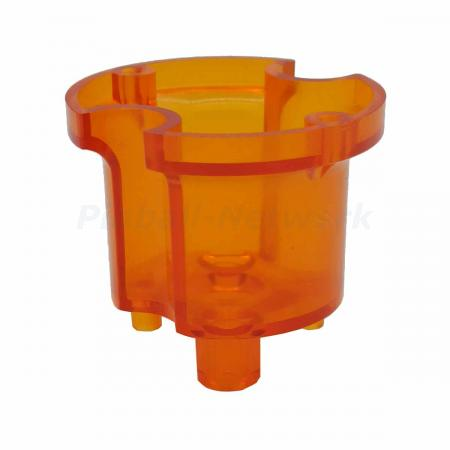 Schlagturmoberteil Bally/Williams, orange transparent