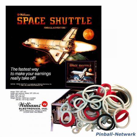 Space Shuttle Williams Gummisortiment