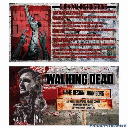 The Walking Dead Custom Cards