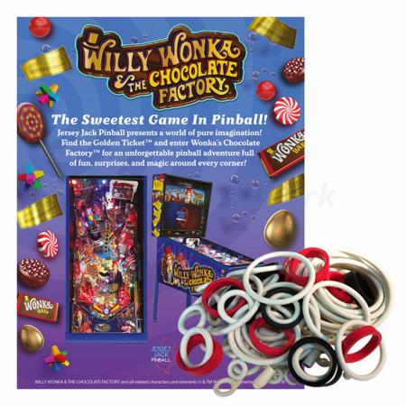 Willy Wonka and the Chocolate Factory Gummisortiment