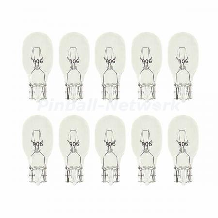 #906 Flasherlampe mit Glassockel, 10er Pack