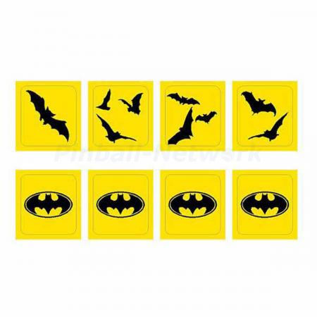 Batman Forever Drop Target Decals