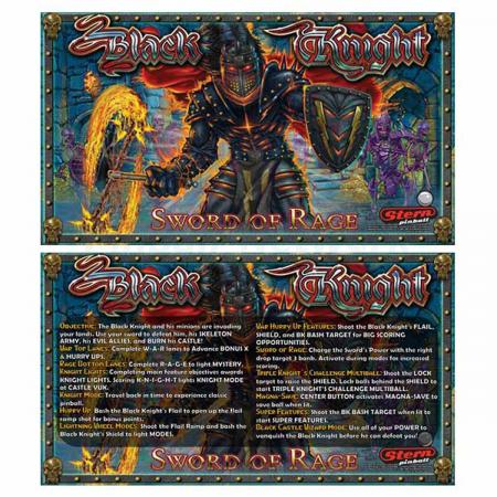 Black Knight Sword of Rage Custom Cards