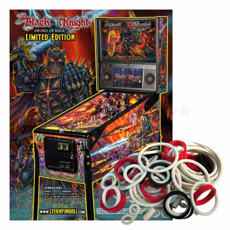 Black Knight Sword of Rage Limited Edition Gummisortiment