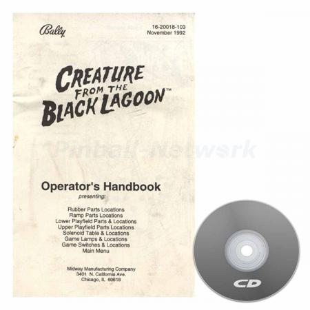 Creature From The Black Lagoon Operators Handbook