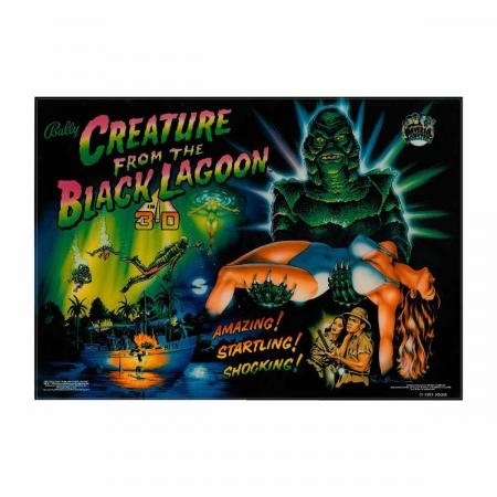 Creature From The Black Lagoon Translite, Sammleredition