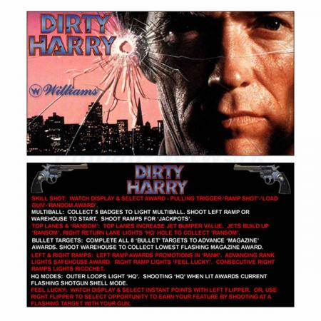 Dirty Harry Custom Cards