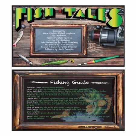 Fish Tales Custom Cards, Design 2