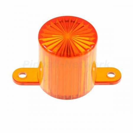 Flasher Dome Screw Cap, amber