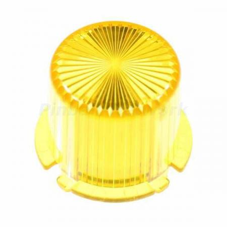 Flasher Dome Twist Cap, gelb