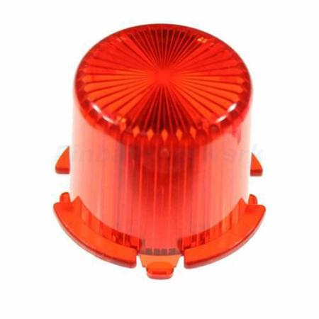 Flasher Dome Twist Cap, rot