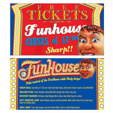 Funhouse Custom Cards, Design 1