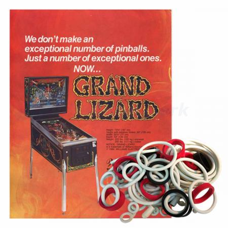Grand Lizard Gummisortiment