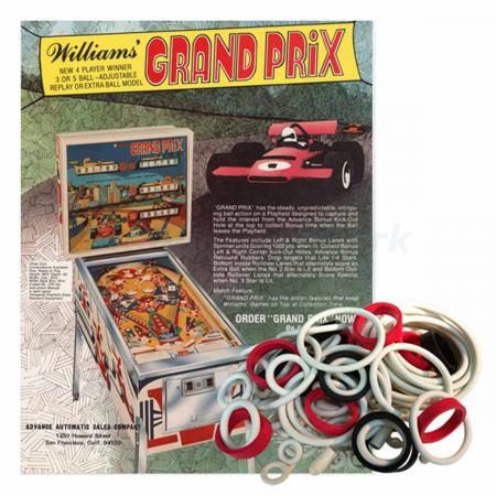 Grand Prix Williams Gummisortiment
