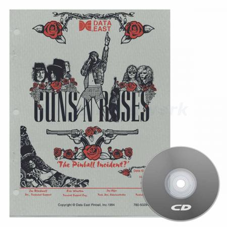 Guns N´ Roses Data East Operations Manual