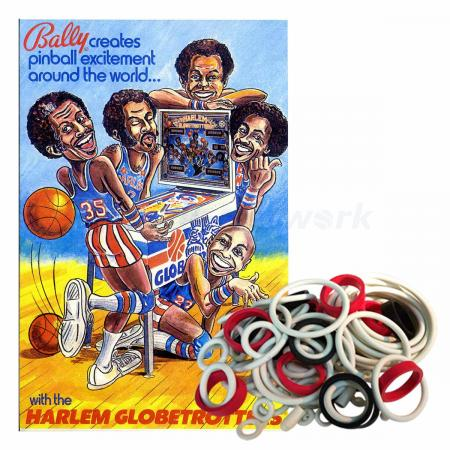 Harlem Globetrotters Gummisortiment