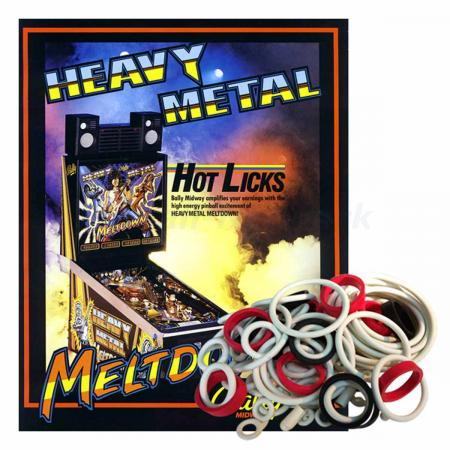 Heavy Metal Meltdown Gummisortiment