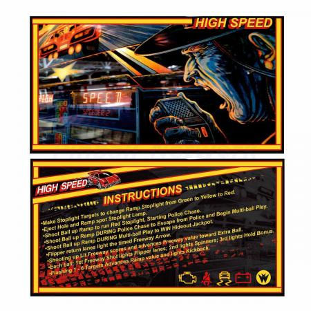 High Speed Custom Cards, Design 1
