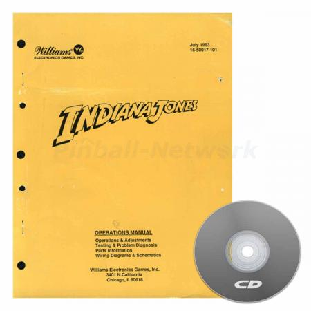 Indiana Jones Williams Operations Manual