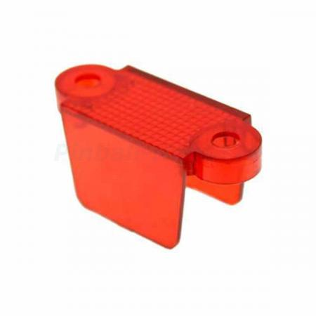 "Lane Guide 1 3/4"", rot transparent (03-8318-9)"