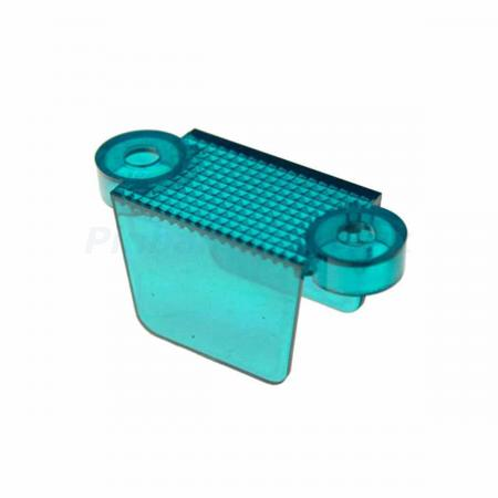 "Lane Guide 1 3/4"", teal transparent"