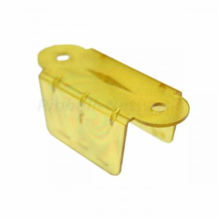 "Lane Guide 2 1/8"", gelb transparent"