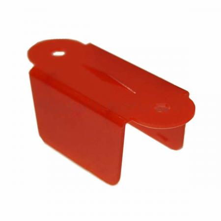 "Lane Guide 2 1/8"", rot"