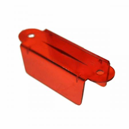 "Lane Guide 2 3/4"", rot transparent"