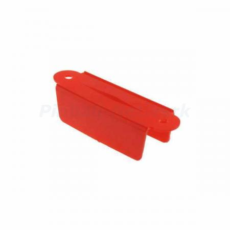 "Lane Guide 3 1/8"", rot"