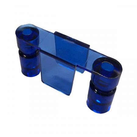 Lane Guide Stern/Sega, blau transparent