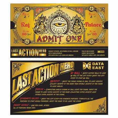 Last Action Hero Custom Cards, Design 2