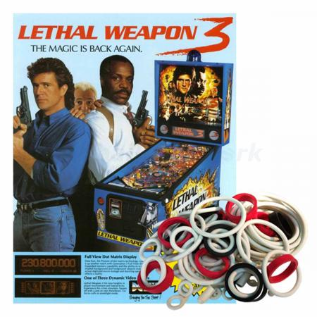 Lethal Weapon 3 Gummisortiment