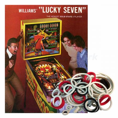 Lucky Seven Gummisortiment
