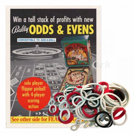 Odds and Evens Gummisortiment