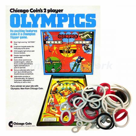 Olympics Chicago Coin Gummisortiment