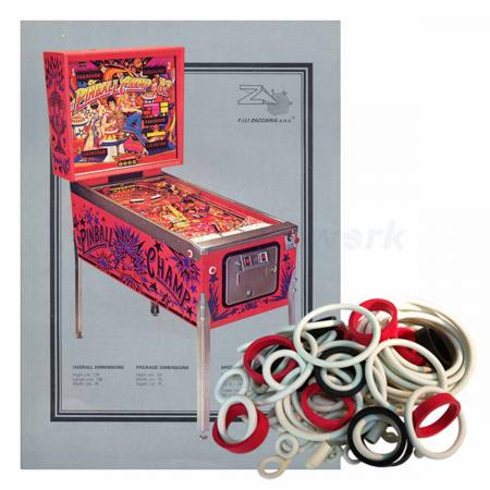 Pinball Champ ´82 Gummisortiment