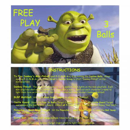 Shrek Custom Cards