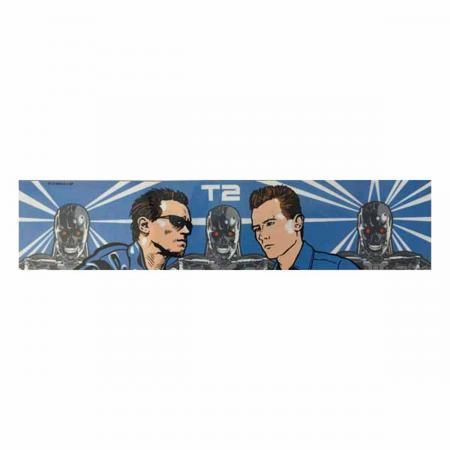 Terminator 2: Judgment Day Backboard Decal