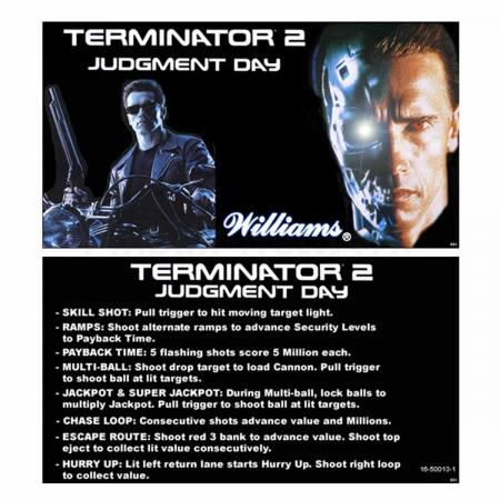 Terminator 2: Judgment Day Custom Cards, Design 1